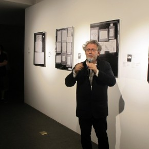 "07 Curator Georges Didi Huberman made a speech 290x290 - An Exhibition About Images of ""Memory"" – Beijing OCAT Institute Officially Opened"