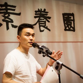07 Zhou Xue, winner of the Golden Microphone hosted the opening ceremony of the exhibition