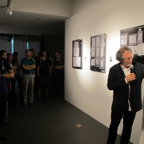 "08 Curator Georges Didi Huberman made a speech 290x290 - An Exhibition About Images of ""Memory"" – Beijing OCAT Institute Officially Opened"