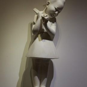 "08 Jiang Jie, ""March Forward March Forward"", sculpture, 2012"
