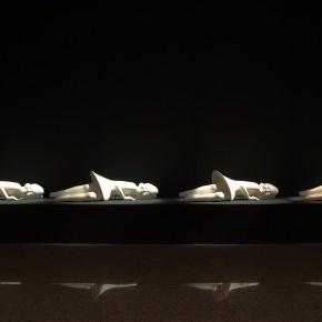 "09 Jiang Jie, ""March Forward March Forward"", sculpture, 2012"