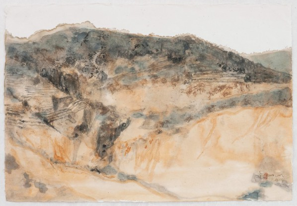 10 Zhu Yancun, The Ancient Tea-Horse Road No.2, mixed media on paper, 102 x 79 x 13 cm, 2014