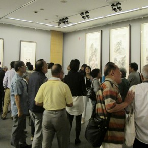 "12 Exhibition view of ""Leisure Brushwork and Treasures Left by the Predecessor - Retrospective of Qi Gong's Art"""