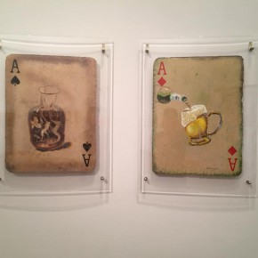 """12 Huang Yong's works  290x290 - Huang Yong's Solo Exhibition """"Food Game"""" debuted in Berlin, Playing """"Food Game"""" together with Texas Poker"""