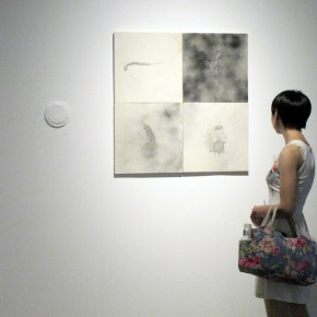 12 Installation view of the exhibition 290x290 - Integration of the Palm Form, Polymeric Form and Multiplezyme Form Showcasing the Group Characteristics of Young Artists