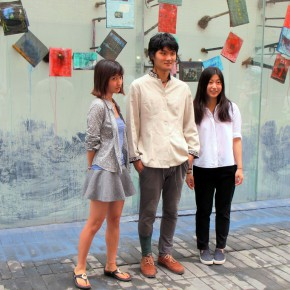 13 Artist Tong Kunniao and Window Stewards Qin Jianv and Yao Pinhui 290x290 - 2015 Finding Friends: Discover Young Artists Vol.04: Hi, Future Unveiled in Today Art Museum