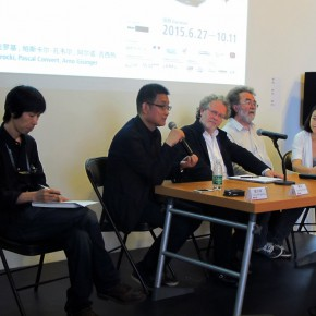 """13 View of the press conference 290x290 - An Exhibition About Images of """"Memory"""" – Beijing OCAT Institute Officially Opened"""