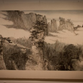 14 Installation view of Qiu Ting's Exhibition of Chinese Painting and Calligraphy 290x290 - Building a Poetic Home in Brush and Ink: Qiu Ting's Exhibition of Chinese Painting and Calligraphy Debuted at Shangdong Dacheng Art Museum