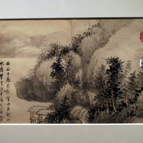 "15 Exhibition view of ""Leisure Brushwork and Treasures Left by the Predecessor - Retrospective of Qi Gong's Art"""