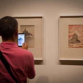 15 Installation view of Qiu Ting's Exhibition of Chinese Painting and Calligraphy