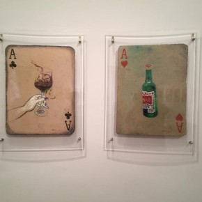 """16 Huang Yong's works  290x290 - Huang Yong's Solo Exhibition """"Food Game"""" debuted in Berlin, Playing """"Food Game"""" together with Texas Poker"""