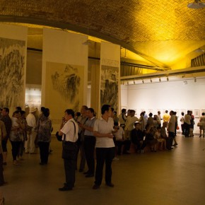 16 Installation view of Qiu Ting's Exhibition of Chinese Painting and Calligraphy 290x290 - Building a Poetic Home in Brush and Ink: Qiu Ting's Exhibition of Chinese Painting and Calligraphy Debuted at Shangdong Dacheng Art Museum