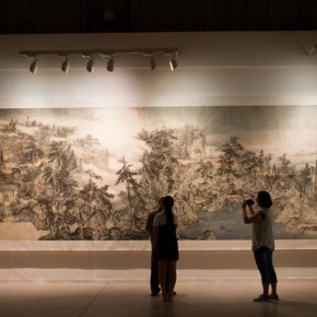 19 Installation view of Qiu Ting's Exhibition of Chinese Painting and Calligraphy 290x290 - Building a Poetic Home in Brush and Ink: Qiu Ting's Exhibition of Chinese Painting and Calligraphy Debuted at Shangdong Dacheng Art Museum