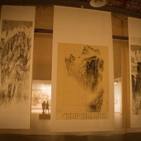 20 Installation view of Qiu Ting's Exhibition of Chinese Painting and Calligraphy 290x290 - Building a Poetic Home in Brush and Ink: Qiu Ting's Exhibition of Chinese Painting and Calligraphy Debuted at Shangdong Dacheng Art Museum
