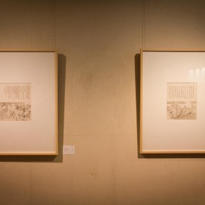 22 Installation view of Qiu Ting's Exhibition of Chinese Painting and Calligraphy 290x290 - Building a Poetic Home in Brush and Ink: Qiu Ting's Exhibition of Chinese Painting and Calligraphy Debuted at Shangdong Dacheng Art Museum