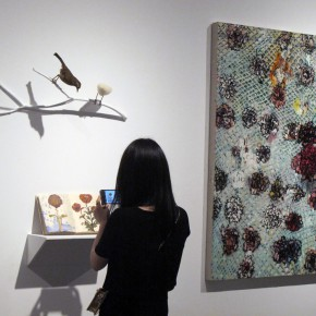 25 Installation view of the exhibition2 290x290 - Integration of the Palm Form, Polymeric Form and Multiplezyme Form Showcasing the Group Characteristics of Young Artists