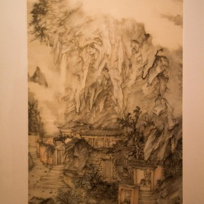 26 Installation view of Qiu Ting's Exhibition of Chinese Painting and Calligraphy 290x290 - Building a Poetic Home in Brush and Ink: Qiu Ting's Exhibition of Chinese Painting and Calligraphy Debuted at Shangdong Dacheng Art Museum
