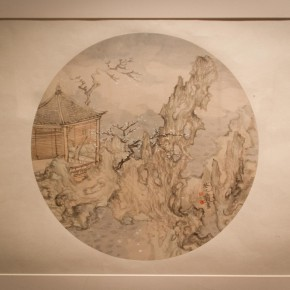 29 Installation view of Qiu Ting's Exhibition of Chinese Painting and Calligraphy