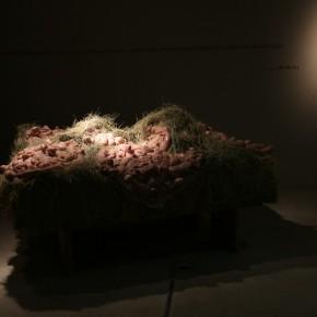34 Jiang Jie, They Know the Identities, silicone, gauze, 300 x 300 cm, 2007