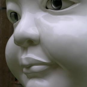 45 Jiang Jie, Zai, resin, paint, glass, 200 x 160 x 140 cm, 2001