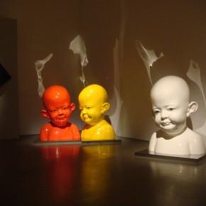 48 Jiang Jie, Zai, resin, paint, glass, 200 x 160 x 140 cm, 2001