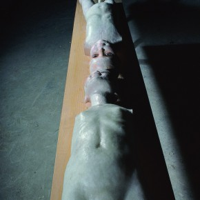 55 Jiang Jie, The Parallel Man and Woman, 1996, in the collections of Fukouku Art Museum, Japan