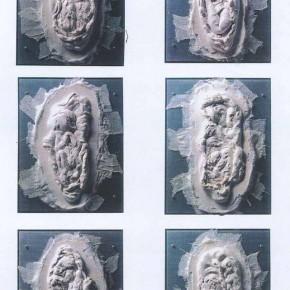 63 Jiang Jie, Relative Fusion, resin, 40 x 30 x 6 cm, 1996