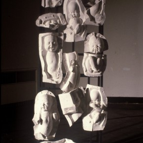 68 Jiang Jie, Appearance of the Life, plaster, irregular size, 1994
