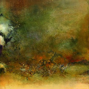 "Zao Wou Ki 20.06.84 1984 Oil on canvas 100x81cm 290x290 - The Group Exhibition ""A Window to the World – Asia's New Trend"" Opening July 4 at Soka Art Taipei"