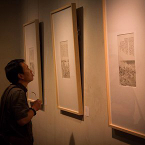 Building a Poetic Home in Brush and Ink: Qiu Ting's Exhibition of Chinese Painting and Calligraphy Debuted at Shangdong Dacheng Art Museum