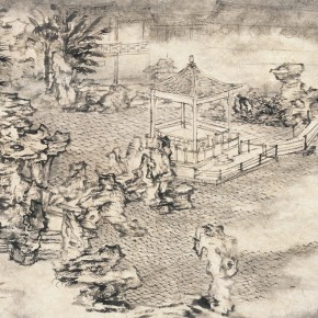 01 Qiu Ting The Pavilion in the Water 81 x 44 cm 2005 290x290 - Qiu Ting