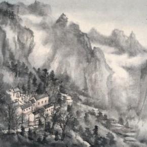 10 Qiu Ting, Lang Mei Temple, 36 x 47 cm, 2011
