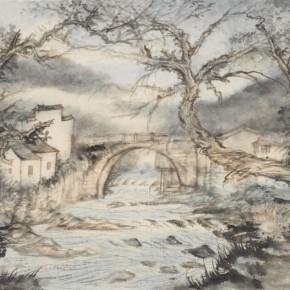 12 Qiu Ting Huang Village 75 x 46.5 cm 290x290 - Qiu Ting