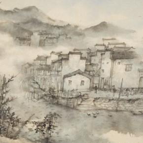 19 Qiu Ting Guan Qiao 67 x 44 cm 290x290 - Qiu Ting