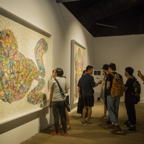 "23 Exibition View of"" ""Transformation A Tale of Contemporary Art and Intangible Cultural Heritage 290x290 - Wu Jian'an explores the feasibility of combining Chinese contemporary art with intangible cultural heritage"