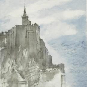 52 Qiu Ting, Saint Michel No.5, 20 x 30 cm, 2014