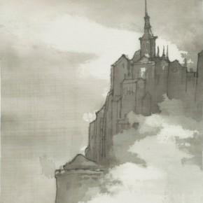 53 Qiu Ting, Saint Michel No.6, 20 x 30 cm, 2014