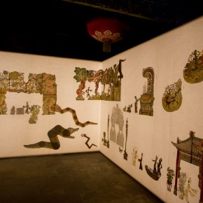 "53 Shadow Puppet of""The Tale of the White Snake"" 290x290 - Wu Jian'an explores the feasibility of combining Chinese contemporary art with intangible cultural heritage"
