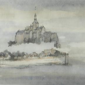 57 Qiu Ting, Saint Michel No.10, 20 x 30 cm, 2014