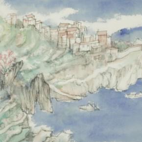 58 Qiu Ting, Saint Michel No.11, 20 x 30 cm, 2014