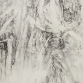 61 Qiu Ting Snow of Taihang Mountains No.1 146 x 340 cm 2015 290x290 - Qiu Ting