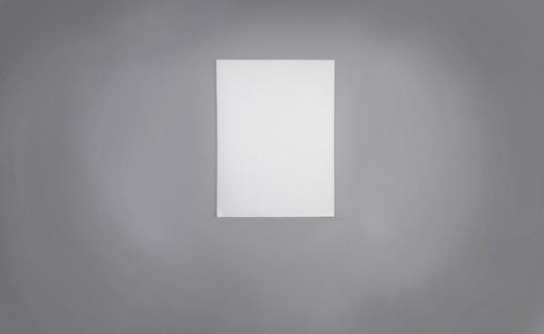 Liu Jianhua, Blank Paper, 2014; porcelain, 201x103x 0.8cm