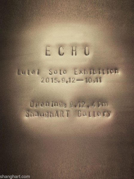 Poster of Lu Lei Solo Exhibition