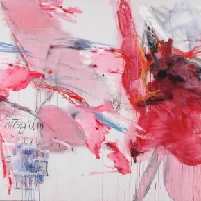 Yang Shu, Untitled 2006-13, 2006; Acrylic and mixed media on canvas, 180 x 260cm