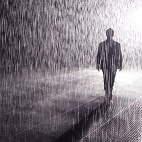 "Yuz Museum presents the debut exhibition of ""Rain Room"" in Shanghai"