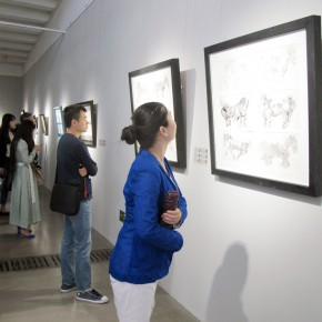 "01 Exhibition view of ""Walk on Paper"" 290x290 - A Kind of Flexible Casual Expression: Cao Li's ""Walk on Paper"" exhibition is unveiled at Can Art Center"