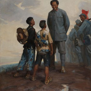 "02 Cai Liang The Sons of Poor Peasants oil on canvas 210 x 176 cm 1964 collected by CAFA Art Museum 290x290 - ""The Temperature of History: CAFA and Chinese Representational Oil Paintings"" opening at the Ancestral Temple Art Gallery"