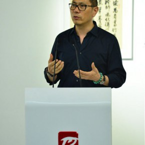 02 Cai Wanlin Art Director of the Rhythm Art Organization addressed the opening ceremony1 290x290 - Pattern · Style – the First Chinese Painting Exhibition for the Ph.D. students opened at the Rhythm Art Museum