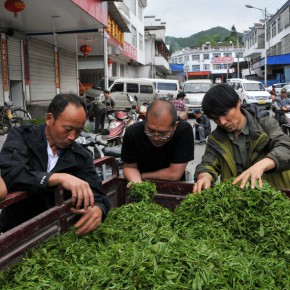 """03 Tea Factory Market at Likou Country Qimen Anhui 290x290 - Guangdong Times Museum announces """"Projects of the Hinterland Project: Shi Qing Solo Exhibition"""" opens September 26"""
