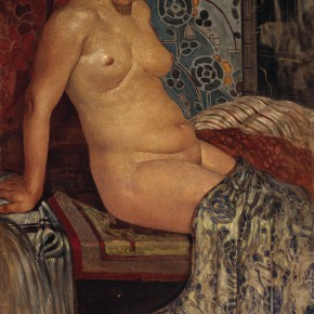 "04 Chang Shuhong Portrait of A Sitting Nude oil on canvas 140 x 92 cm 1940 collected by CAFA Art Museum 290x290 - ""The Temperature of History: CAFA and Chinese Representational Oil Paintings"" opening at the Ancestral Temple Art Gallery"